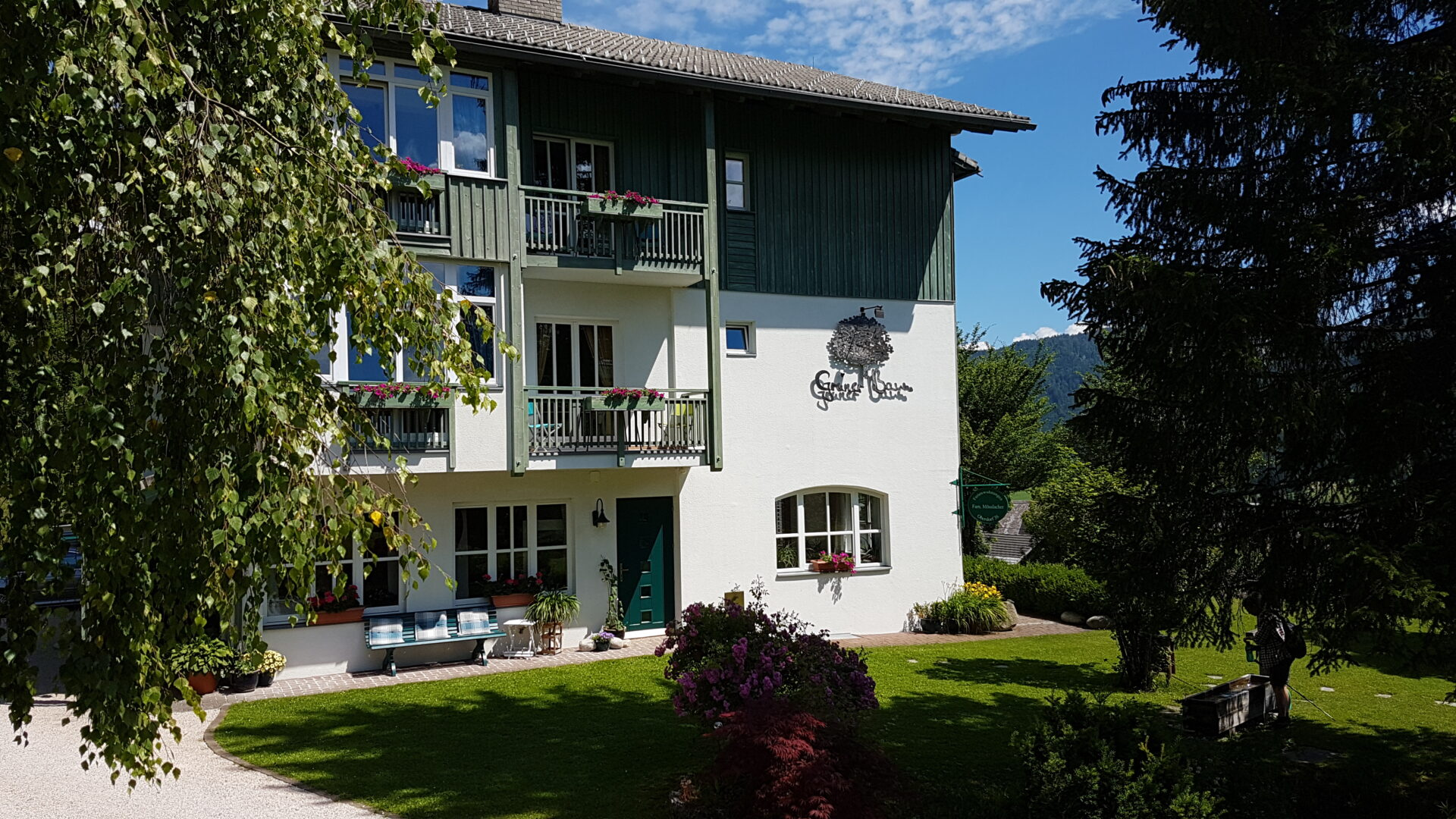 Ferienwohnung Grüner Baum Weissensee Haus